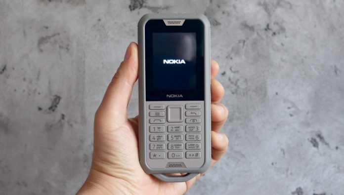 The review of protected phone Nokia 800 Tough: