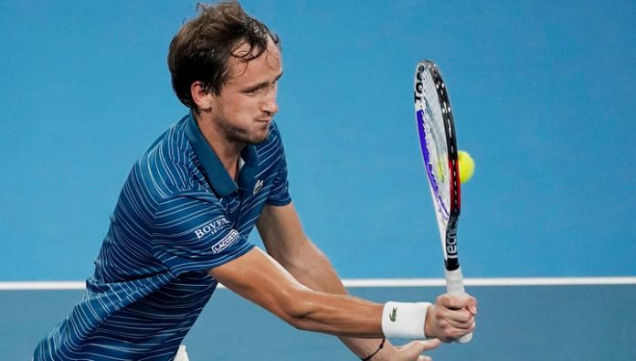 The Russian team lost to Serbia in the semifinals of the ATP Cup