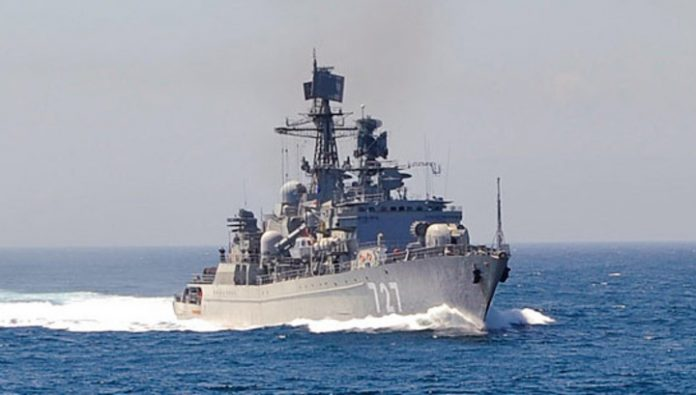 The sailors of Russia and Japan have conducted anti-piracy exercises