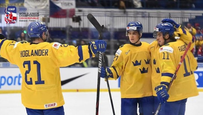 The Swedes are Finns left without medals of the world youth championship