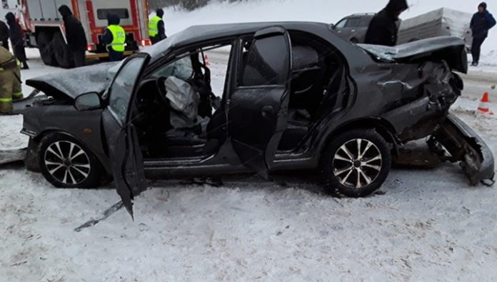 The time of the accident in the Vologda region, which claimed two lives, caught on video