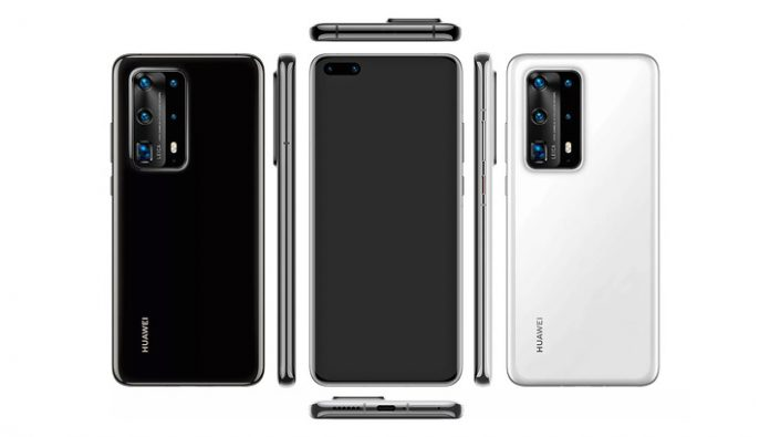 The top Huawei P40 Pro 7 camera and ceramic body