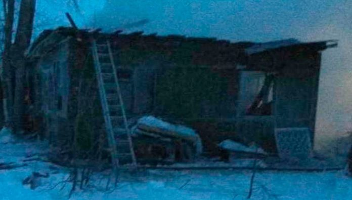 To eleven has increased the death toll in a fire in the village of Tomsk region