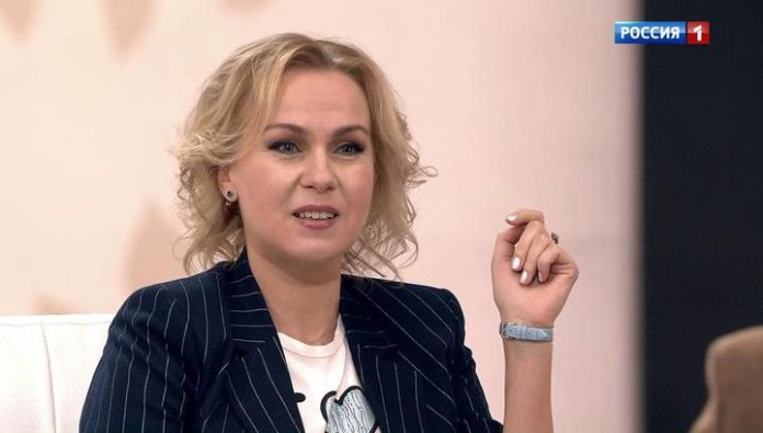 To return from the cleaners in the actress Svetlana Chuykina helped accident