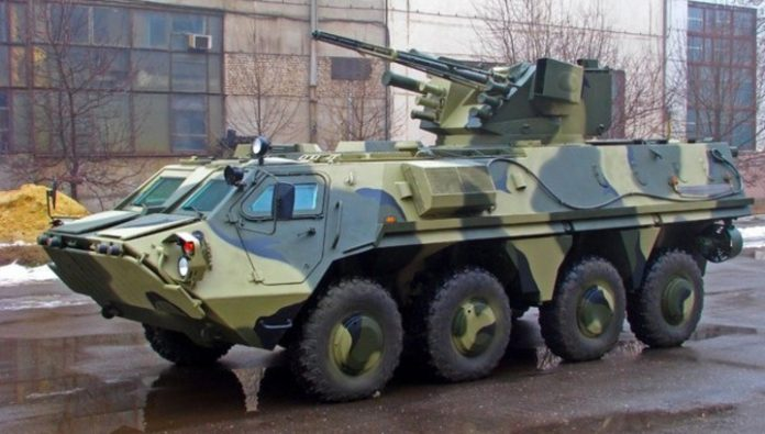 Ukrainian armored vehicles have again started to crack