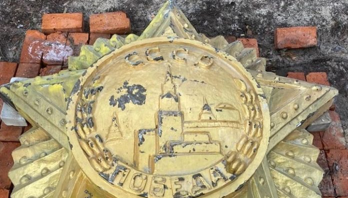 Ukrainian ex-Deputy Dobkin bought the Order of Victory with the demolition of Lviv monument