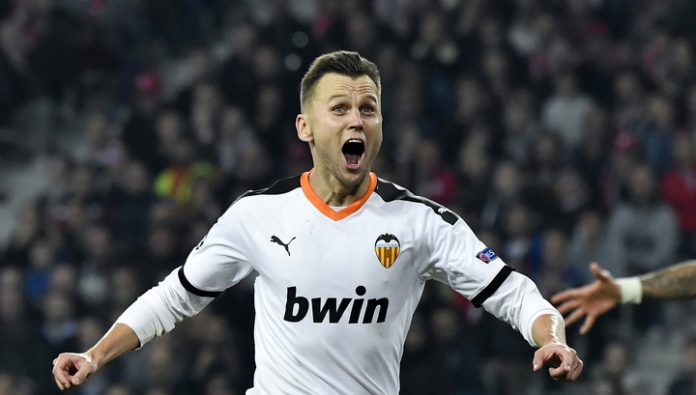 Valencia and Cheryshev extended their unbeaten run in the Spanish League
