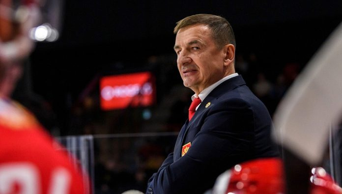 Valery Bragin does not know whether he will continue working with the hockey team