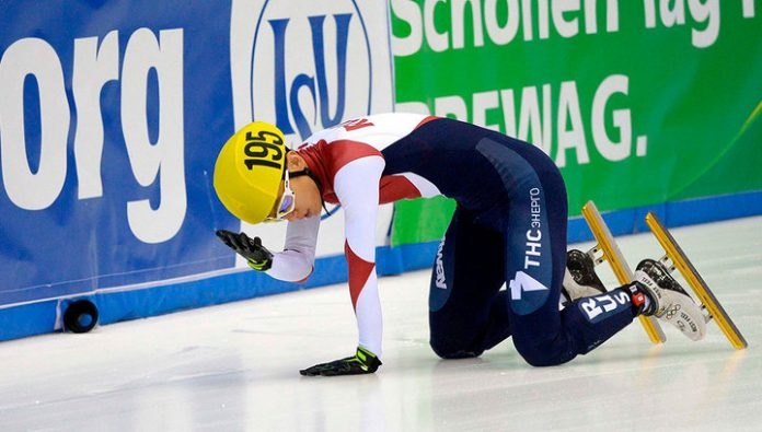 Viktor Ahn will miss the European championship on short track because of an injury
