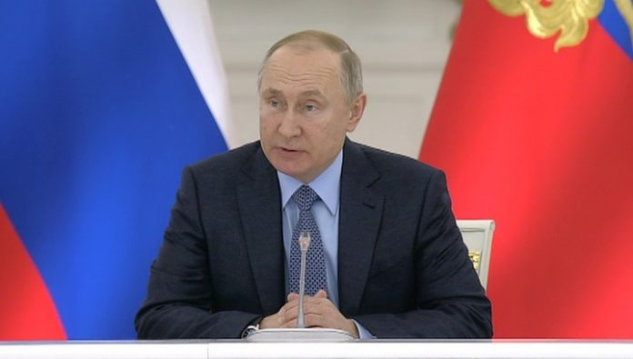 Vladimir Putin discussed with the head of the Council of Europe current problems