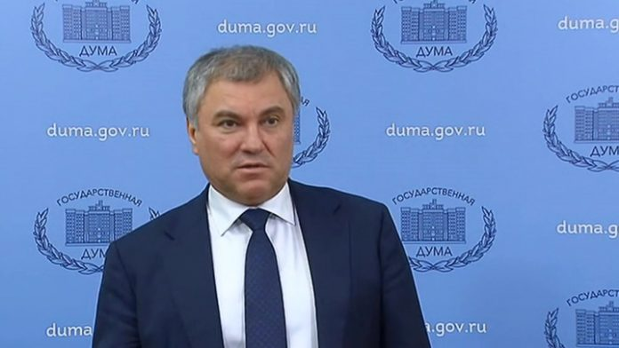 Volodin about Mishustin: professional, knowledgeable regional specificity