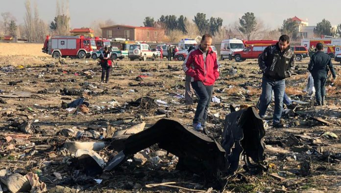 Western intelligence agencies: the cause of the crash Boeing in Iran was technical malfunction