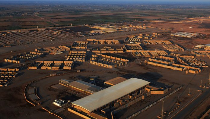 When the fire base in Iraq, the us military is not affected