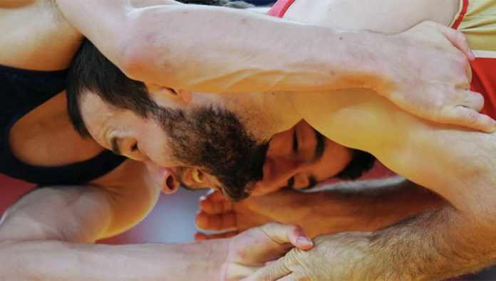 Wrestlers from Georgia and Ukraine fought on tournament in Turkey