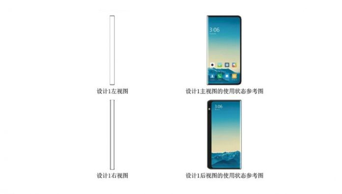 Xiaomi has patented a smartphone with triple screen