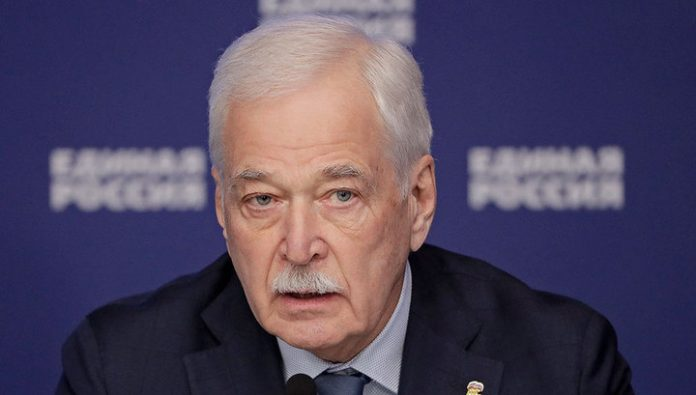 Boris Gryzlov: Kiev has taken a destructive position on the Donbass