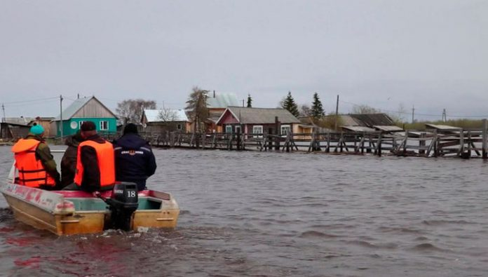 The flood situation in Komi Republic under the control of the MOE