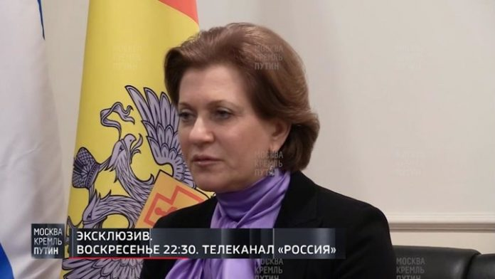 The head of Rospotrebnadzor: go on steady decline in the number of cases of the virus