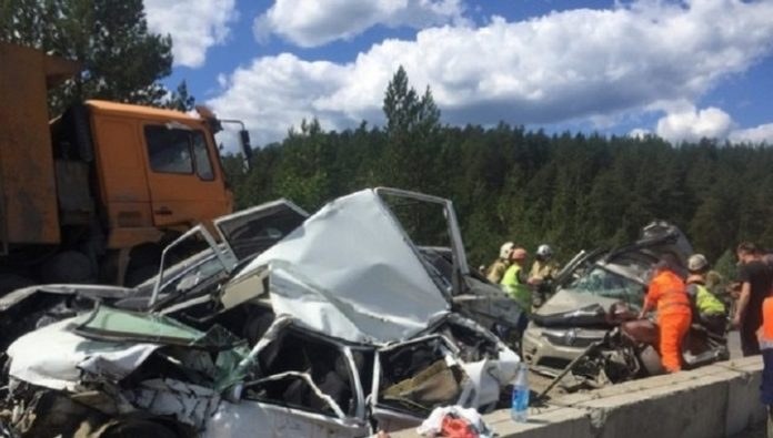 A fatal case. Staged a mass accident on M-5 the driver faces 7 years in prison