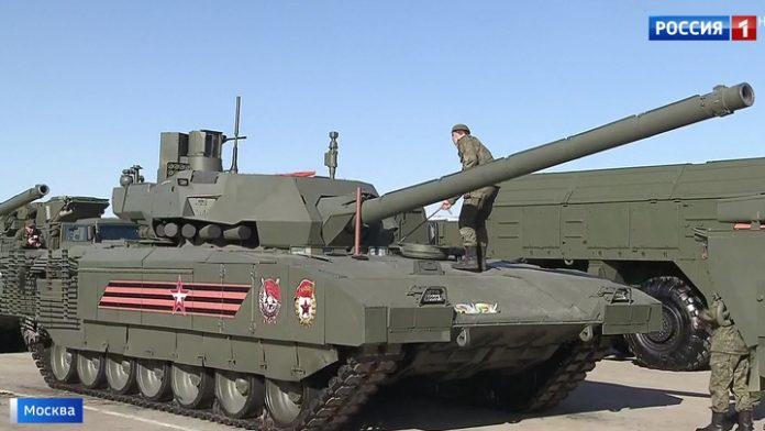 Alabino held the first joint training for Victory Parade
