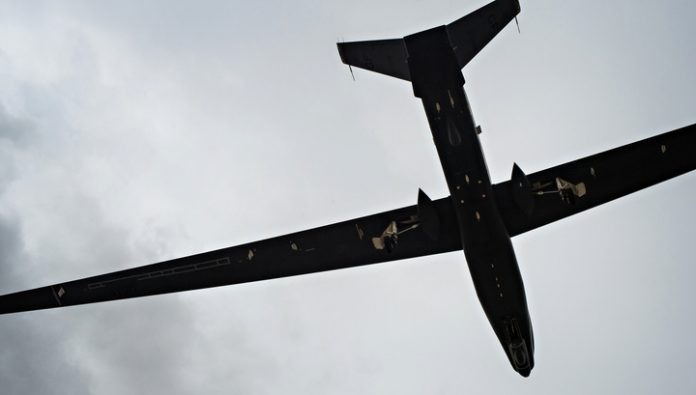 Almost 40 of spy planes spotted near the borders of the Russian Federation