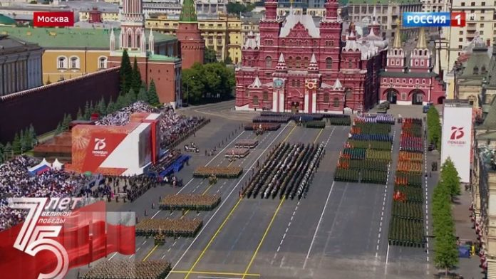Anniversary of the end of the great Patriotic war was celebrated as it was 75 years ago