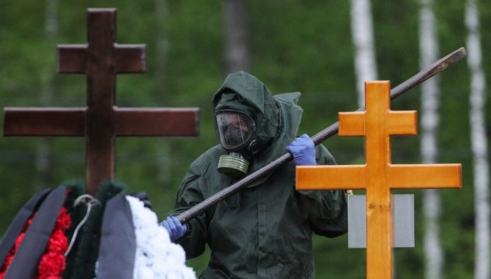 Cemetery of Moscow will not open Saturday