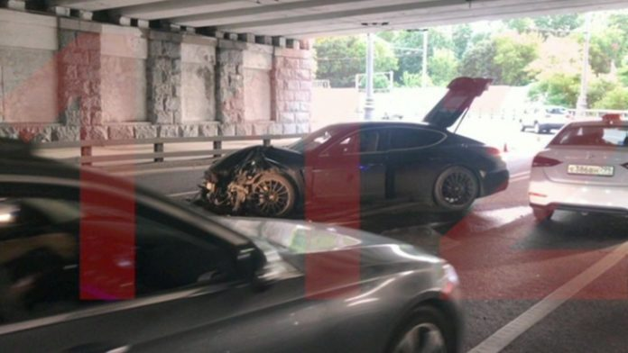 Expensive accident: a drunk grandson of a former Governor Ishayev was again involved in an accident