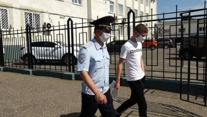 For the ride in the trailer with the bathroom and foam Kostroma arrested for 5 days