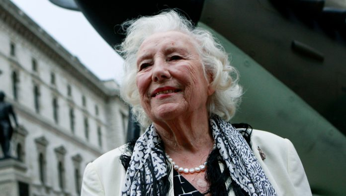In 103 years died a famous British singer Vera Lynn