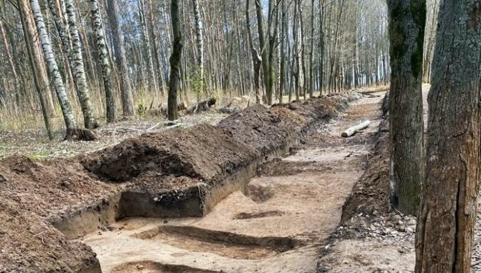 In Gorokhovets has completed a study of ancient tombs