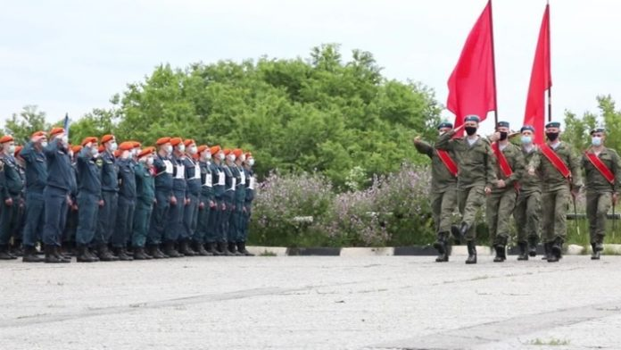 In Khabarovsk, Novorossiysk and held a rehearsal of the Victory Parade