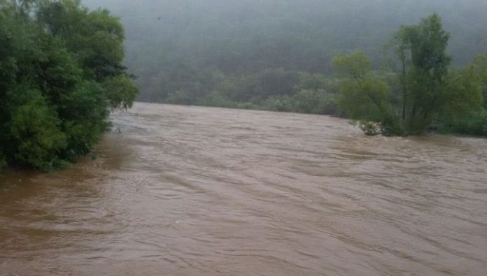 In Primorye, the two villages were under threat of flooding due to flood
