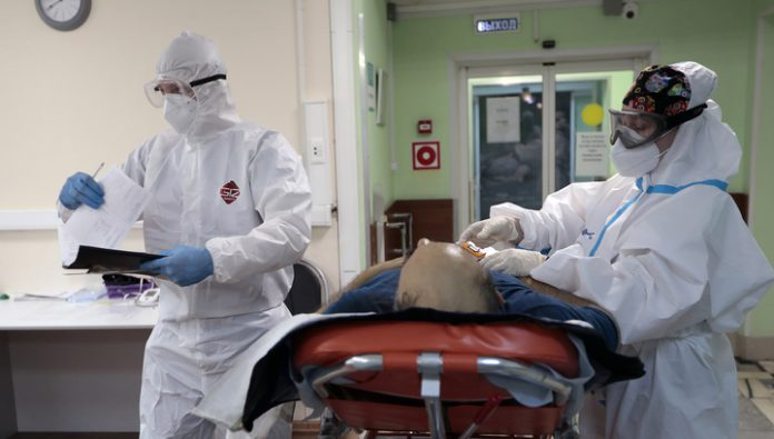 In Russia, for the day had contracted the coronavirus 8779 man