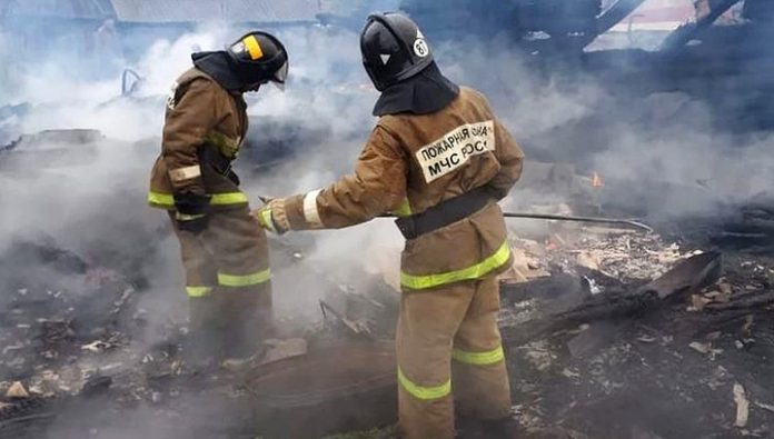 In the Amur region in the fire killed five people