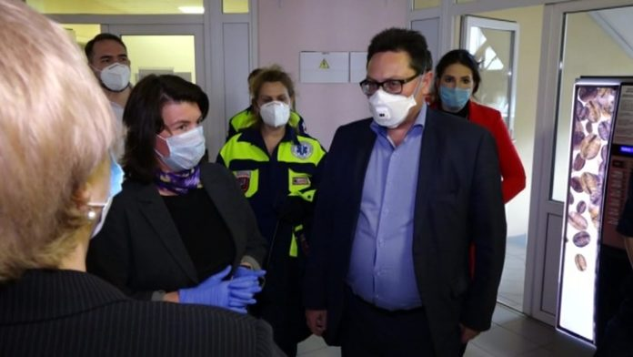 In Velikie Luki the center for the treatment of COVID-19