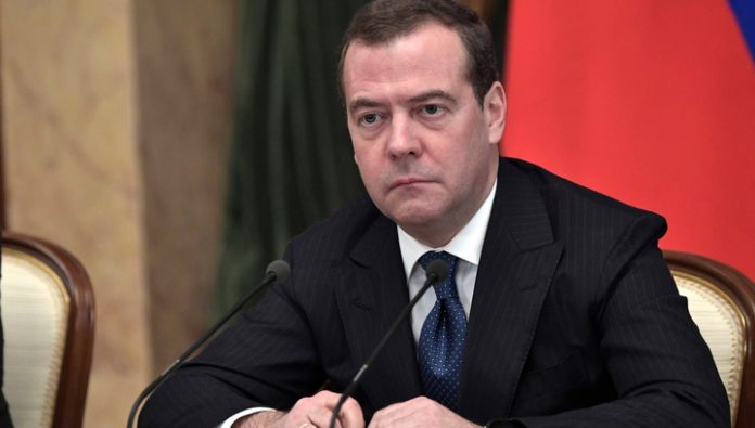 Medvedev named three economic shock for Russia