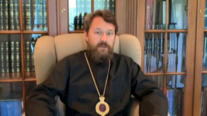 Metropolitan Hilarion of amendments to the Constitution, the LGBT propaganda and protests in the United States