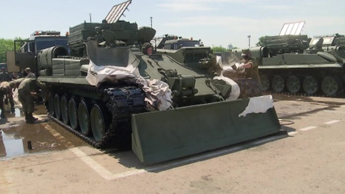 Military technology took the pre-milestone: the Victory Parades to be held in 28 cities