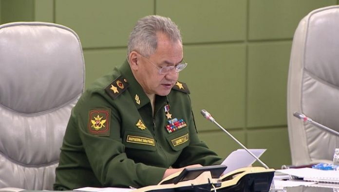 New weapons, marine parade and voting. Shoigu held a conference call