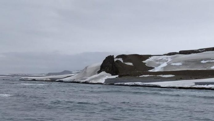 On the New Earth found a place the food depot, the first explorers of the Arctic