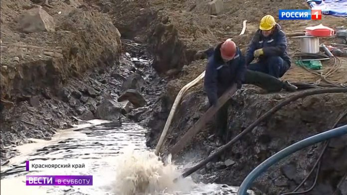 PE on the Taimyr Peninsula: it was possible to collect only the fiftieth part of the spilled diesel fuel