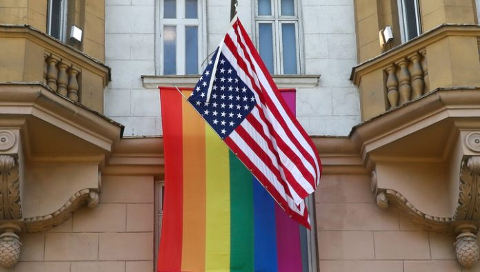 Peskov commented on the raising of the LGBT flag over US Embassy in Moscow