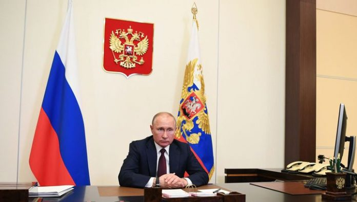 Peskov said that Putin could turn to the Russians