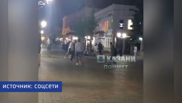 Police detained participants of the mass brawl in Kazan