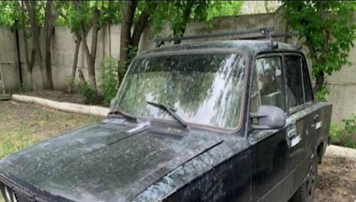 Police found the car of robbers on collectors