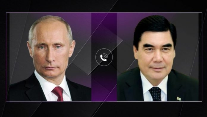Putin congratulated Berdymukhamedov happy birthday