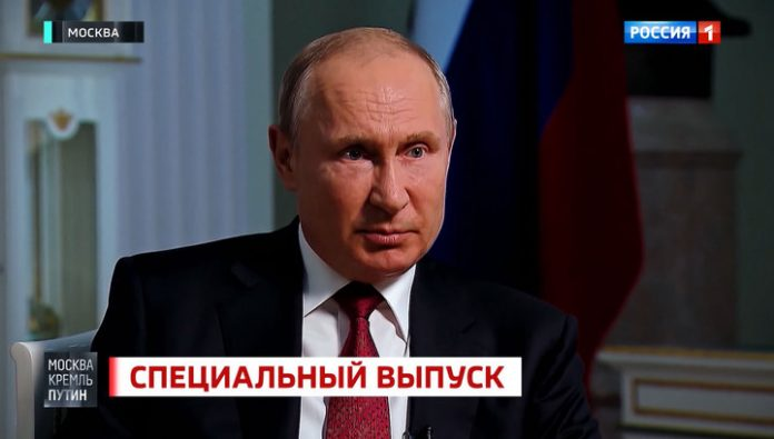 Putin said the idea to control the world