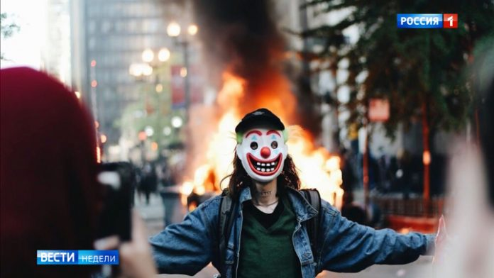 Rebellion in America: anarchy as it is