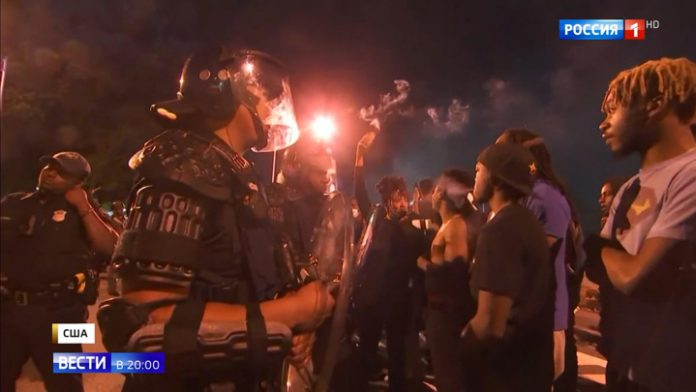 Riots in USA: another death another wave of protests